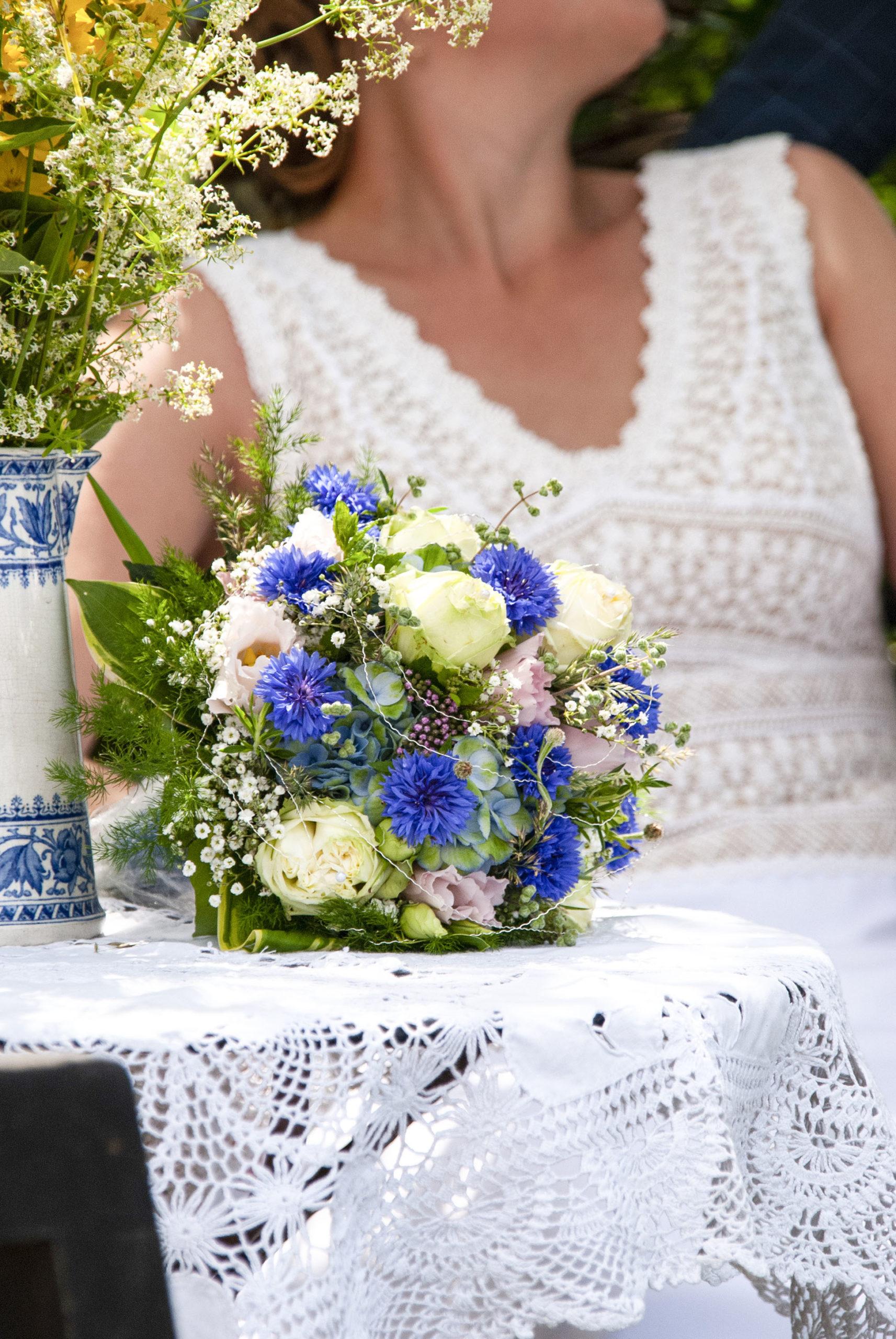 Detailaufnahme Brautstrauß