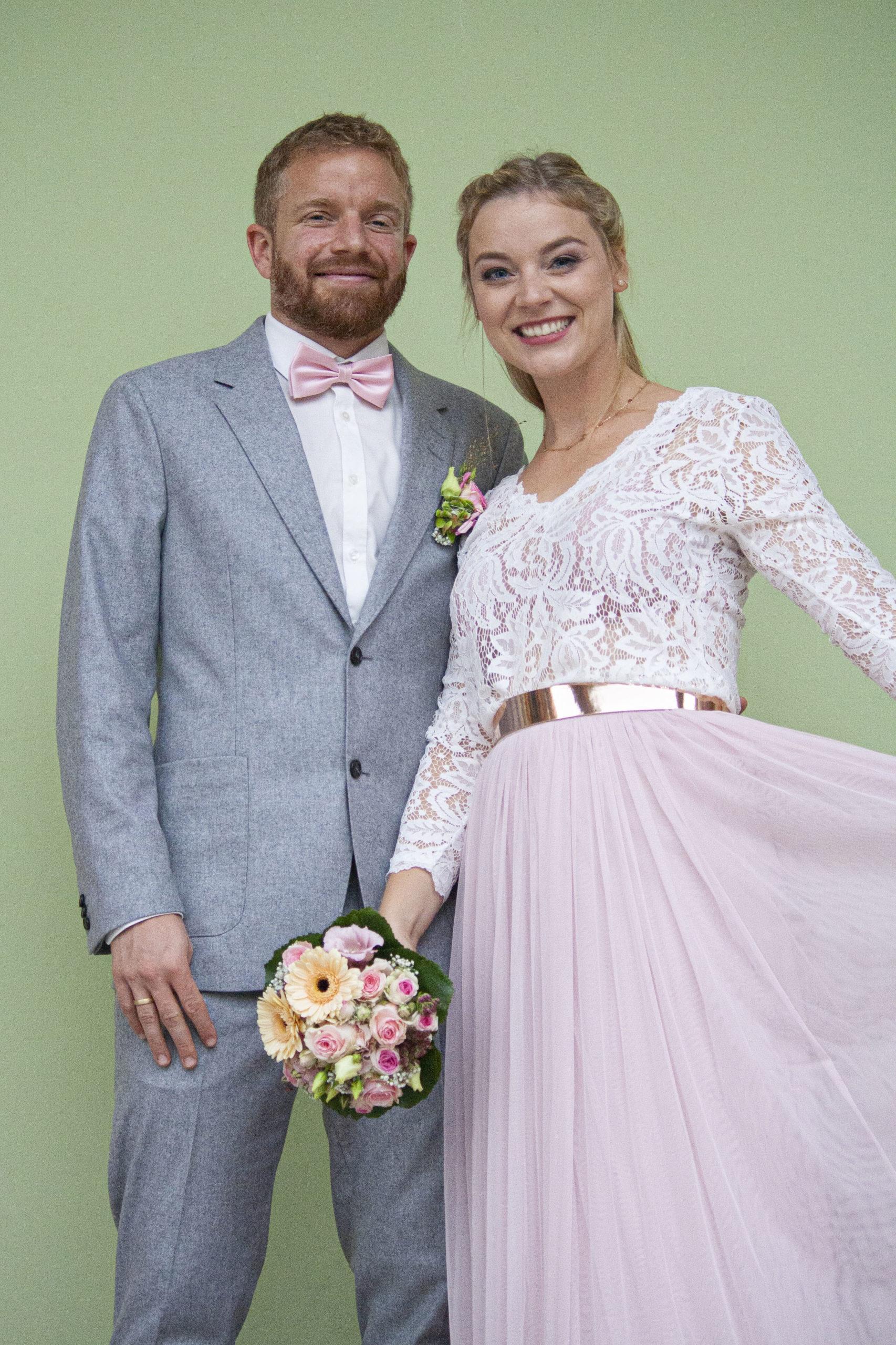 Brautpaar Portrait