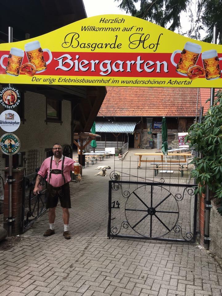 Basgarde Hof Biergarten