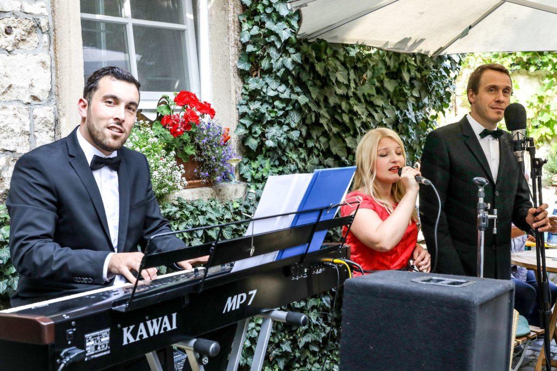 Pianist, Sänger und Sängerin