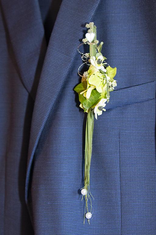 Bräutigamanstecker Klassisch
