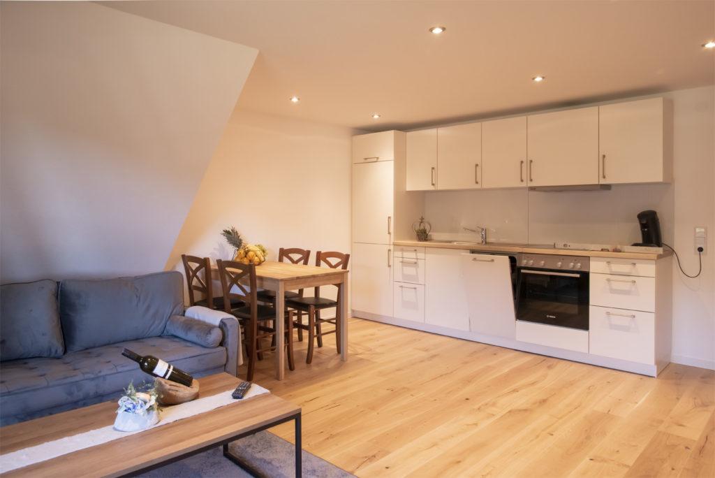 Wohn- und Essbereich Honeymoon-Suite